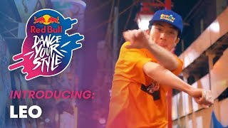 Introducing: Leo, Japanese Hip Hop Dancer | Red Bull Dance Your Style Italy