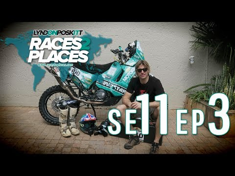 Races To Places SE11 EP03 - Adventure Motorcycling Documentary Ft. Lyndon Poskitt