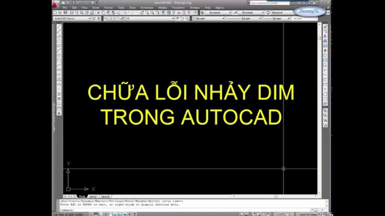 ✔ Autocad Basic – Sửa Lỗi Nhảy Dim – Autocad PhuongTk | NESA iCAD