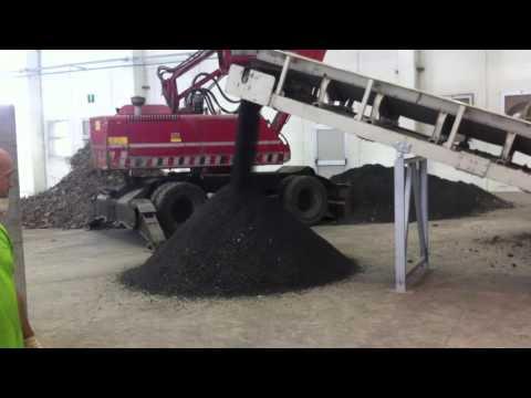 02 - Incinerator ash, bottom ash - ECOSTAR dynamic screening system