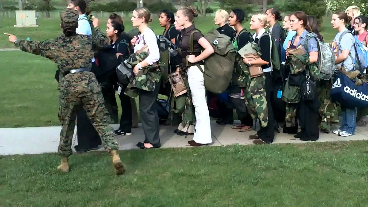 Midwest marines officer candidate school prep females get their first taste youtube - Officer training school marines ...