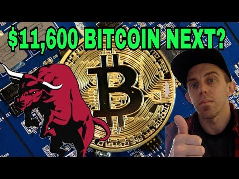 BITCOIN ON THE RISE - $11,600 Next Line Of Resistance!