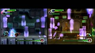 """Megaman X8 - EXF Comparison -  possible case 1 """"Without any Error"""""""