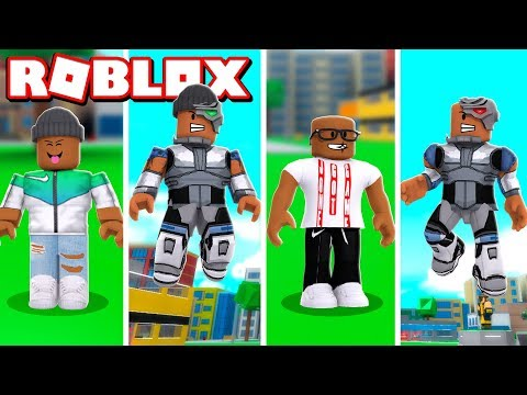 2 PLAYER CYBORG SUPERHERO TYCOON IN ROBLOX