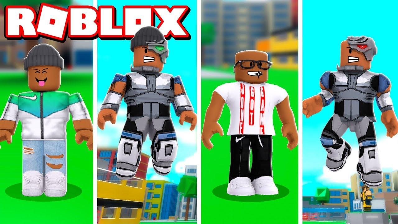 Clip Lets Play Roblox Clip Superhero Tycoon 2 Tv 2 Player Cyborg Superhero Tycoon In Roblox Youtube