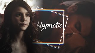 Stefan Caroline and Elena Hypnotic