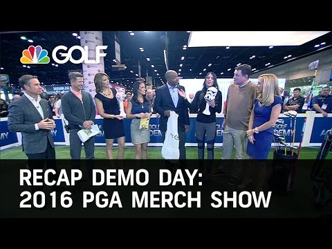 2016 PGA Merchandise Show 1/27/16 - Day 1 | Golf Channel