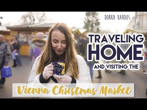 Traveling Home & Vienna Christmas Market 2017