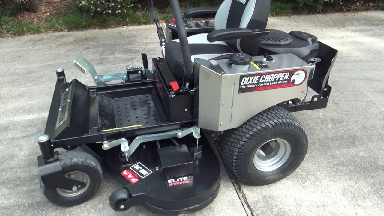 What Dixie Chopper to buy? Zee 2 Review