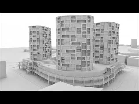 ISTANBUL HALKALI CONCEPT PROJECT ( CANAY YILMAZ ARCHITECTURE )