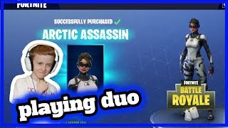 PLAYING DUO / FRUSTRAITING GAME / FORTNITE BATTLE ROYALE