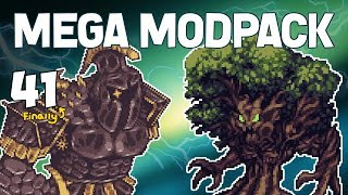 Terraria # 41 Why I Disappeared...  Mega Modpack Let's Play