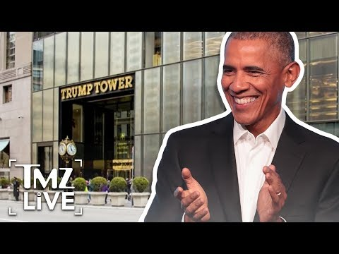 Obama Ave in Front of Trump Tower?  TMZ