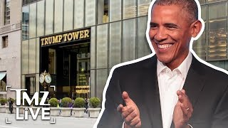 Obama Ave. in Front of Trump Tower? | TMZ Live