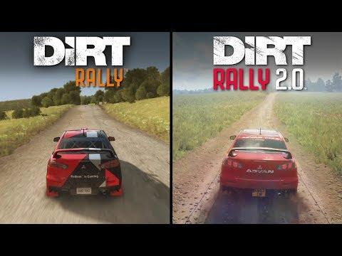 DiRT Rally 2.0 Vs DiRT Rally | Direct Comparison