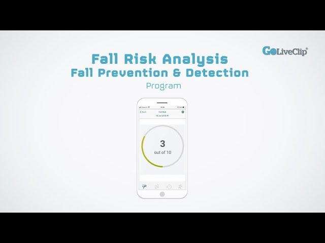 iOS Fall Risk Analysis, Fall Prevention and Detection