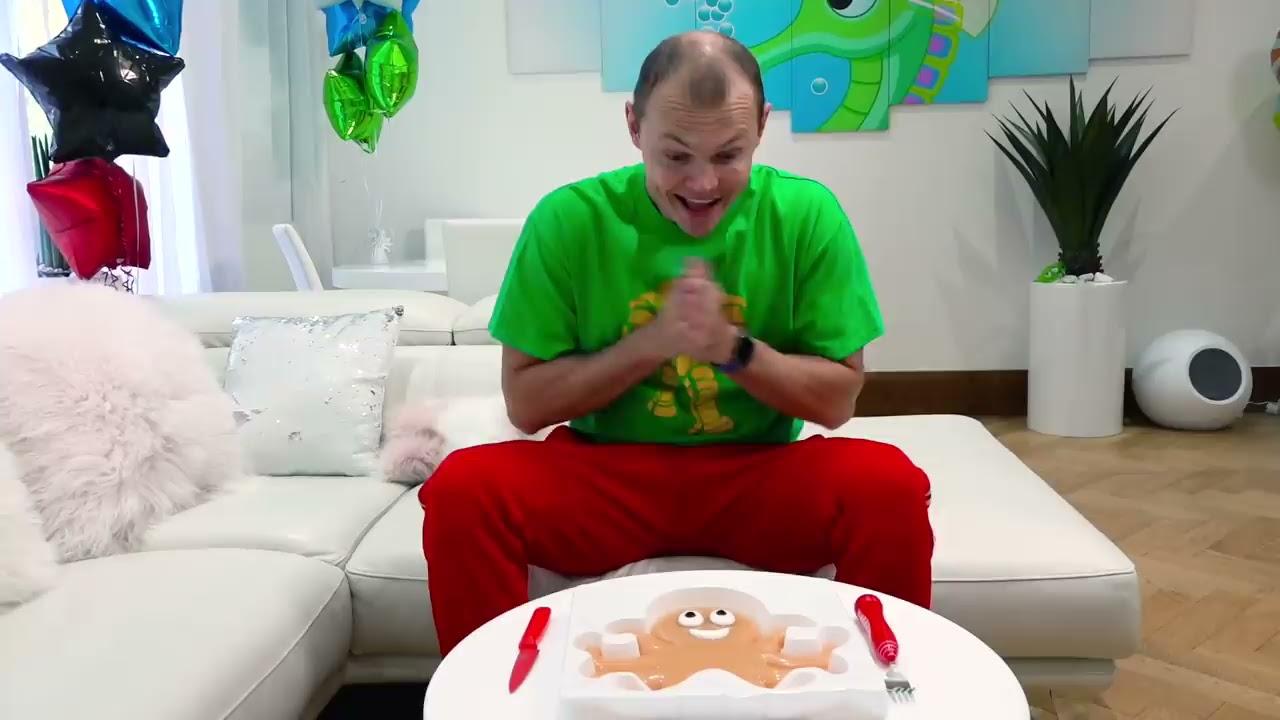 Макс и Катя и игра за сладости с вредным папой