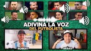 ADIVINA LOS FUTBOLISTAS POR SU VOZ con ROBERT PG