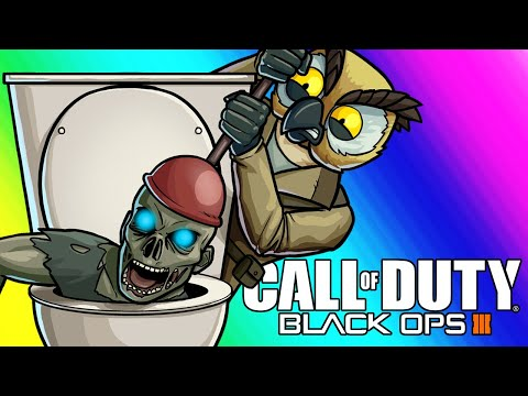 Thumbnail: Black Ops 3 Zombies Funny Moments - Plumbing the Meme Lab!