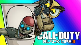 Black Ops 3 Zombies Funny Moments Plumbing The Meme Lab!