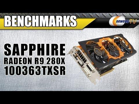 SAPPHIRE Radeon R9 280X Overview & Benchmarks - Newegg TV