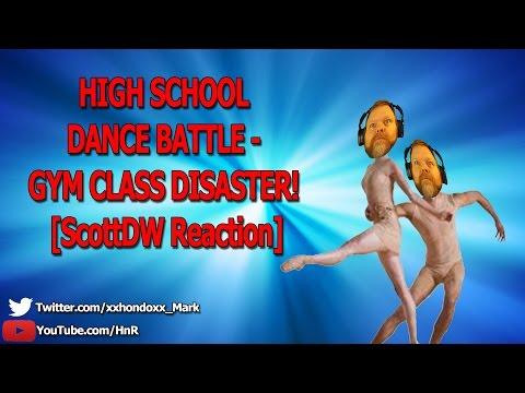 HIGH SCHOOL DANCE BATTLE - GYM CLASS DISASTER! [ScottDW Reaction]
