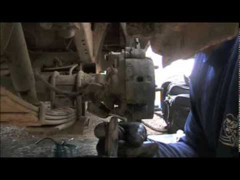 Isuzu Brake Job