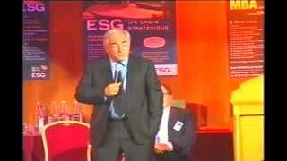 Remise des diplômes ESG Management School promo 2005 - Dominique Strauss-Kahn