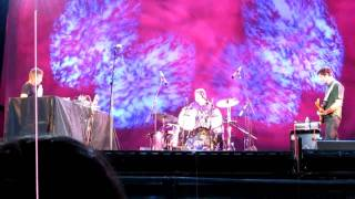"""NEU!'s """"Hallogallo"""" - Michael Rother & friends at Lincoln Center on August 6, 2010"""