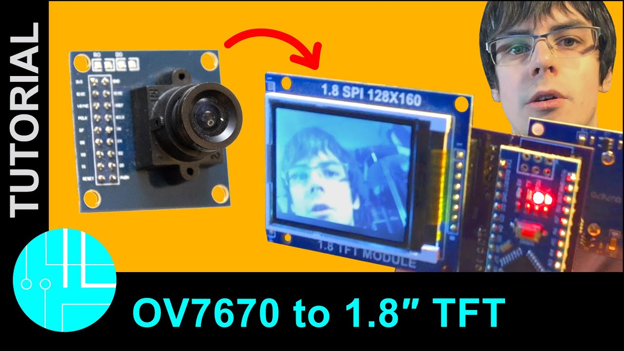 OV7670 Camera Module with Arduino: 10fps Video (Step-By-Step guide)