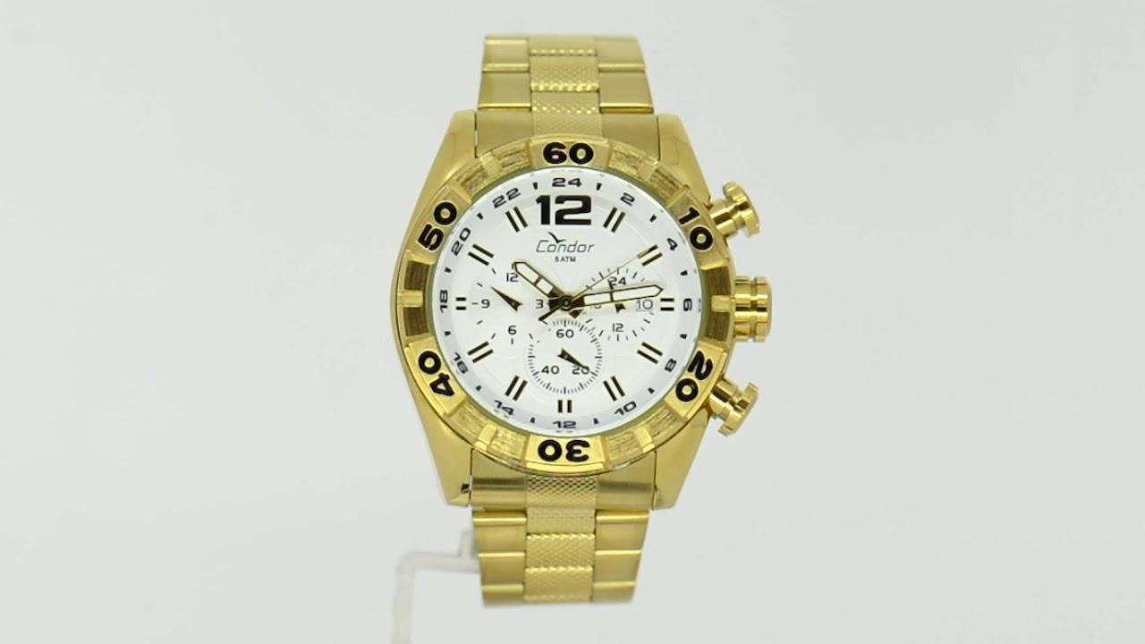 0a6eb0df95a Relógio Condor Masculino COVD33AA 4K - Eclock. Eclock Relógios