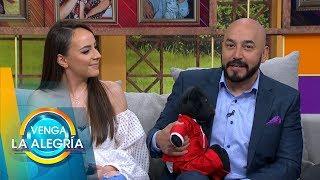 Fátima y Lupillo, ganadores de La Voz 2019, visitaron el foro de VLA. | Venga La Alegría