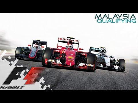 F1 2016 - MALAYSIA - Qualifying!