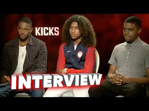 Kicks Exclusive Interview With Jahking Guillory, Christopher Jordan Wallace & Christopher Meyer