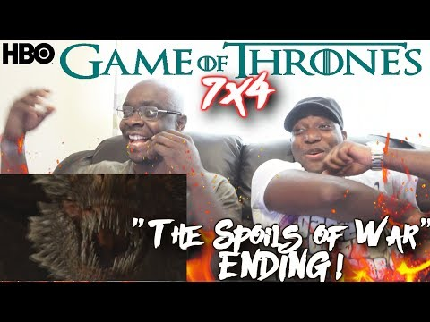 Game of Thrones - 7x4 The Spoils of War REACTION!