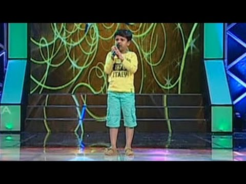 Super Star Junior - 5 | Sreenandh  Singing - Makale Paathi Malare...