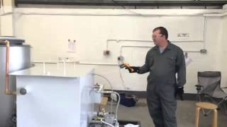 Liquid Nitrogen (LN2) Heat Exchanger  - First Test
