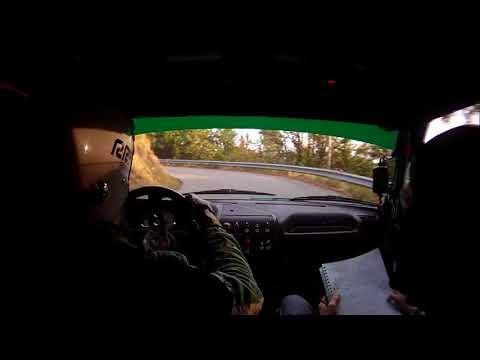 Cameracar Rally della Lanterna 2017 Condrò-Banaudi Peugeot 205 A7 1°di classe - PS4