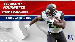 Leonard Fournette's Huge Game w/ 2 TDs & 181 Yards! | Jaguars vs. Steelers | Wk 5 Player Highlights