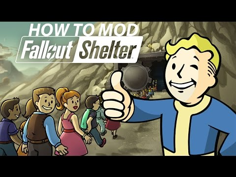 How To Mod Fallout Shelter Game (Android)