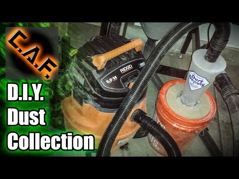 DIY Dust Collection System - How To Make