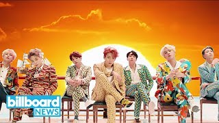 BTS Breaks Youtube's 24-Hour Debut Record with 'Idol'   Billboard News