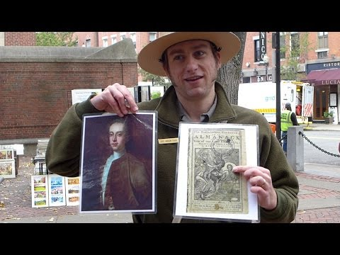 North End Boston Freedom Trail Tour by National Park Ranger Eric Hanson-Plass