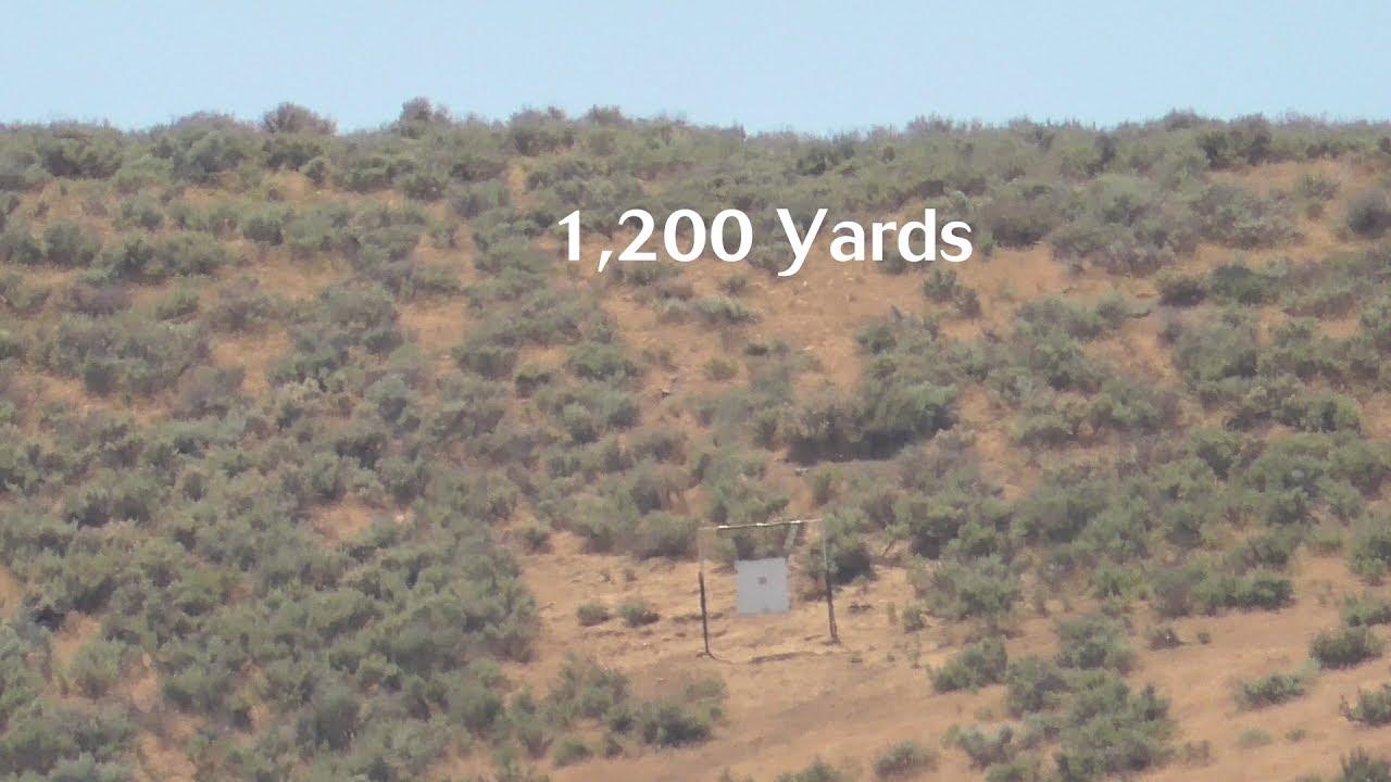 1,200 Yards - 28 Nosler - 3 Shot Group