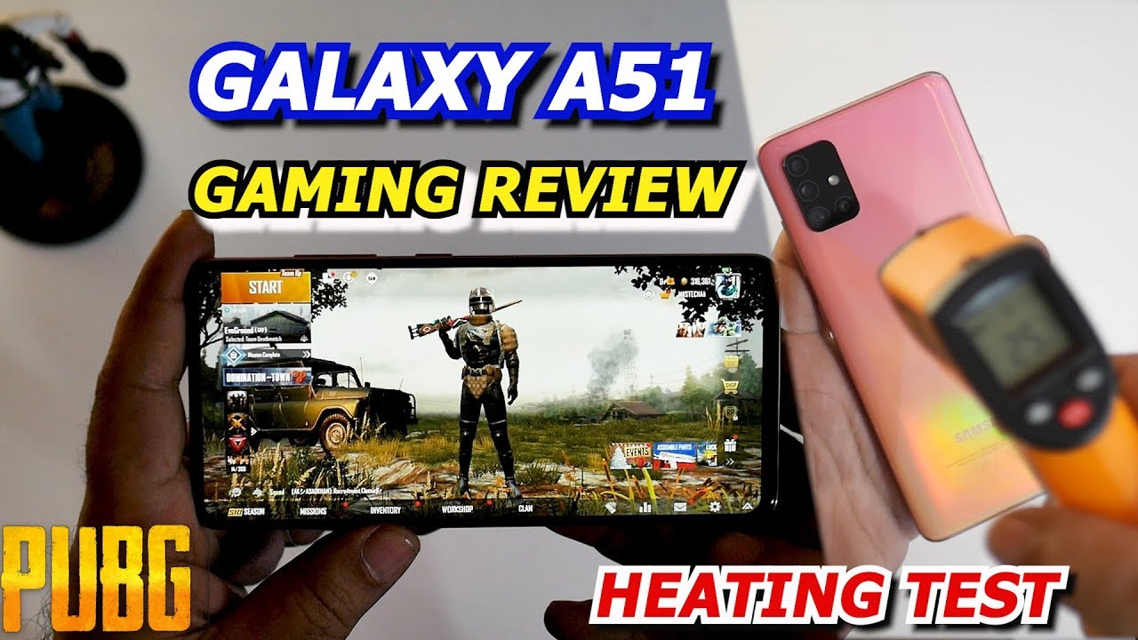Photo of GALAXY A51 Gaming Review & Heating Test | PUBG GAME PLAY |🔥🔥🔥 – سامسونج