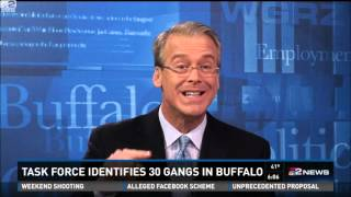 Task force identifies 30 gangs in Buffalo, New York