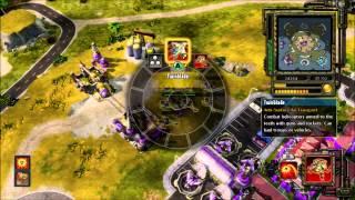 C&C Red Alert 3: Online Gameplay   2v2 Full Game!