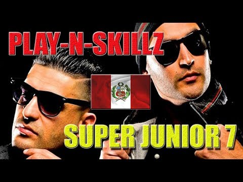 PLAY-N-SKILLZ CONCIERTO DE SUPER JUNIOR LIMA,PERÚ 2018 (HD)