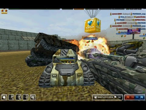 Thumbnail: Tanki Online Gold Box 1000&3000 may day 2014 & rank up from mohammed95s