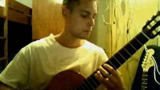 Мой ласковый и нежный зверь на гитаре | композитор Евгений Дога